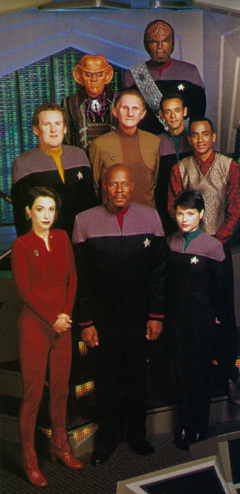 Season Seven Cast of Deep Space Nine